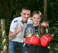 Champion boxer Kevin Satchell makes ten year old R
