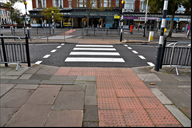 Lord Street's new road surface.