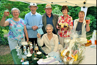 Members of The Rufford Society committee including