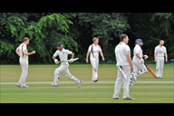 Teams in action at Maghull Cricket Club.
