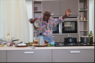 Celebrity chef Ainsley Harriott adopts one of the