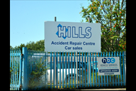 Hills premises on Burscough Industrial Estate.