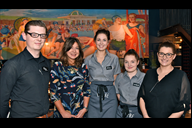 Some of the team at Bistro Pierre which opened on