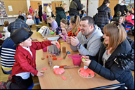 Parents and family join Early Years pupils at last