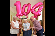 Sister Veronica celebrates her 104th birthday with
