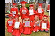 Pupils from Portico West End Day Nursery at their