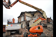 Work starts on demolishing former Shakespeare pub