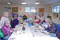 Art class at the Orrell park and district communit