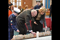 Holocaust Memorial Day service 2019 at Christ Chur