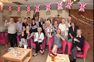 Residents and staff from Ormskirk's Eller Brook Ho