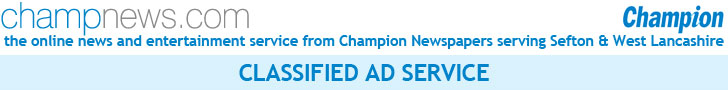 Champ News is a service of Champion Newspapers ... Sefton & West Lancashire's favourite local newspaper