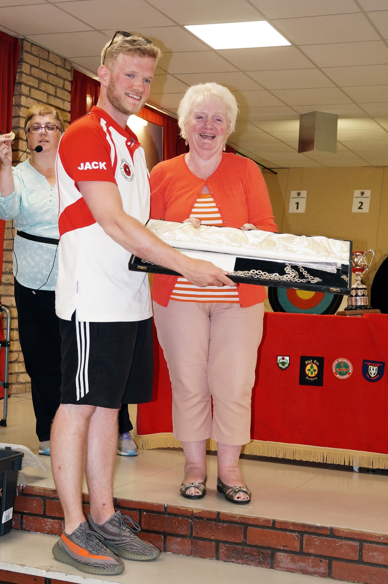 Archery ace Jack's on target for title at the double . . .