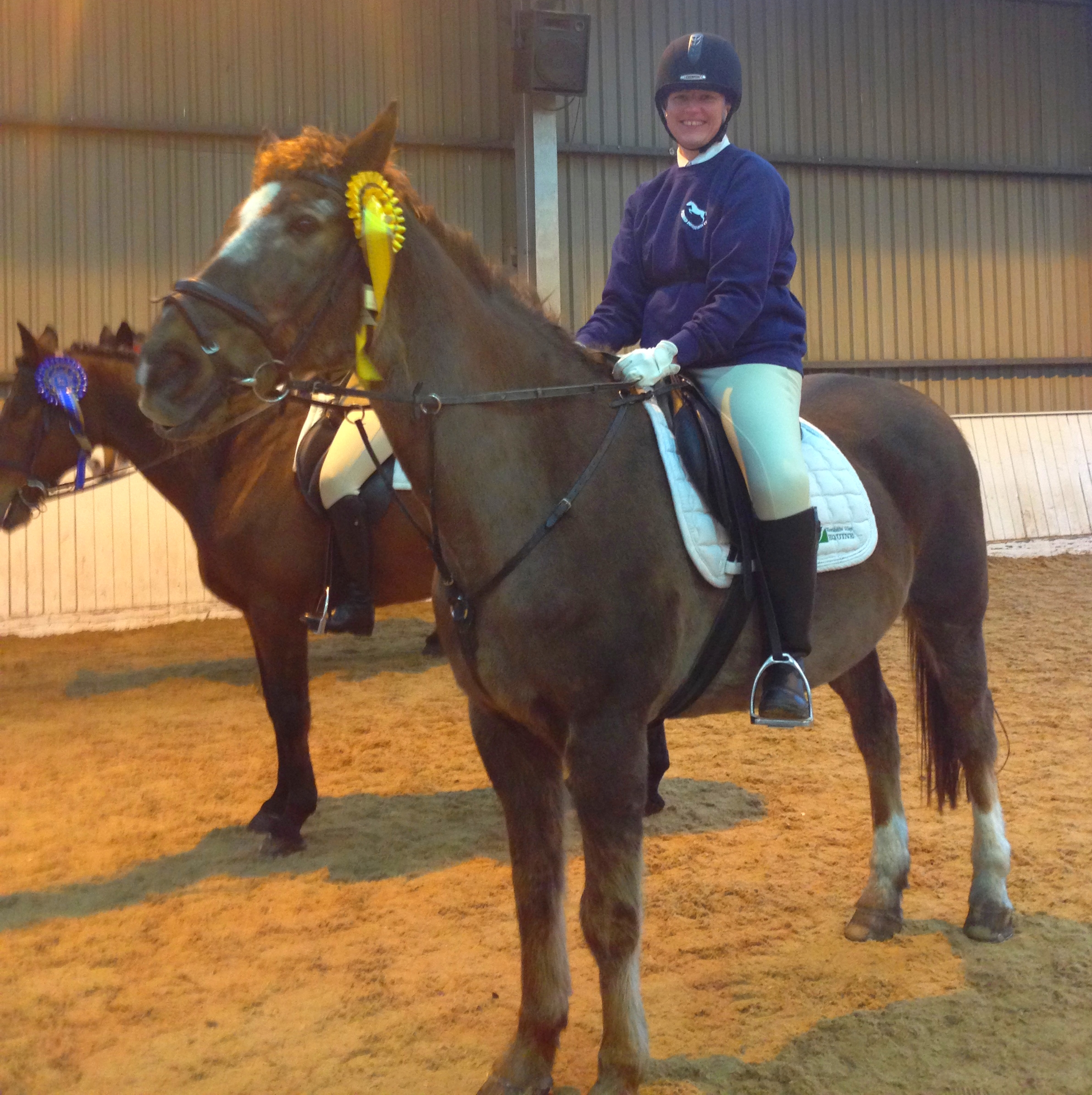 Young riders shine in national championships