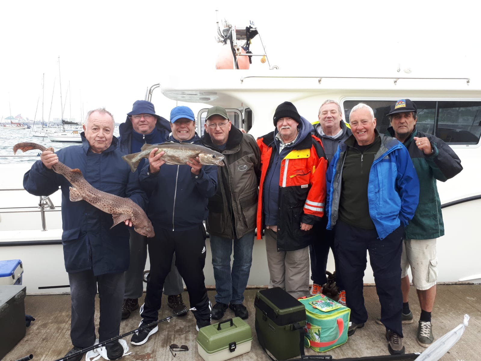 Sea fishing club is a big catch with locals!