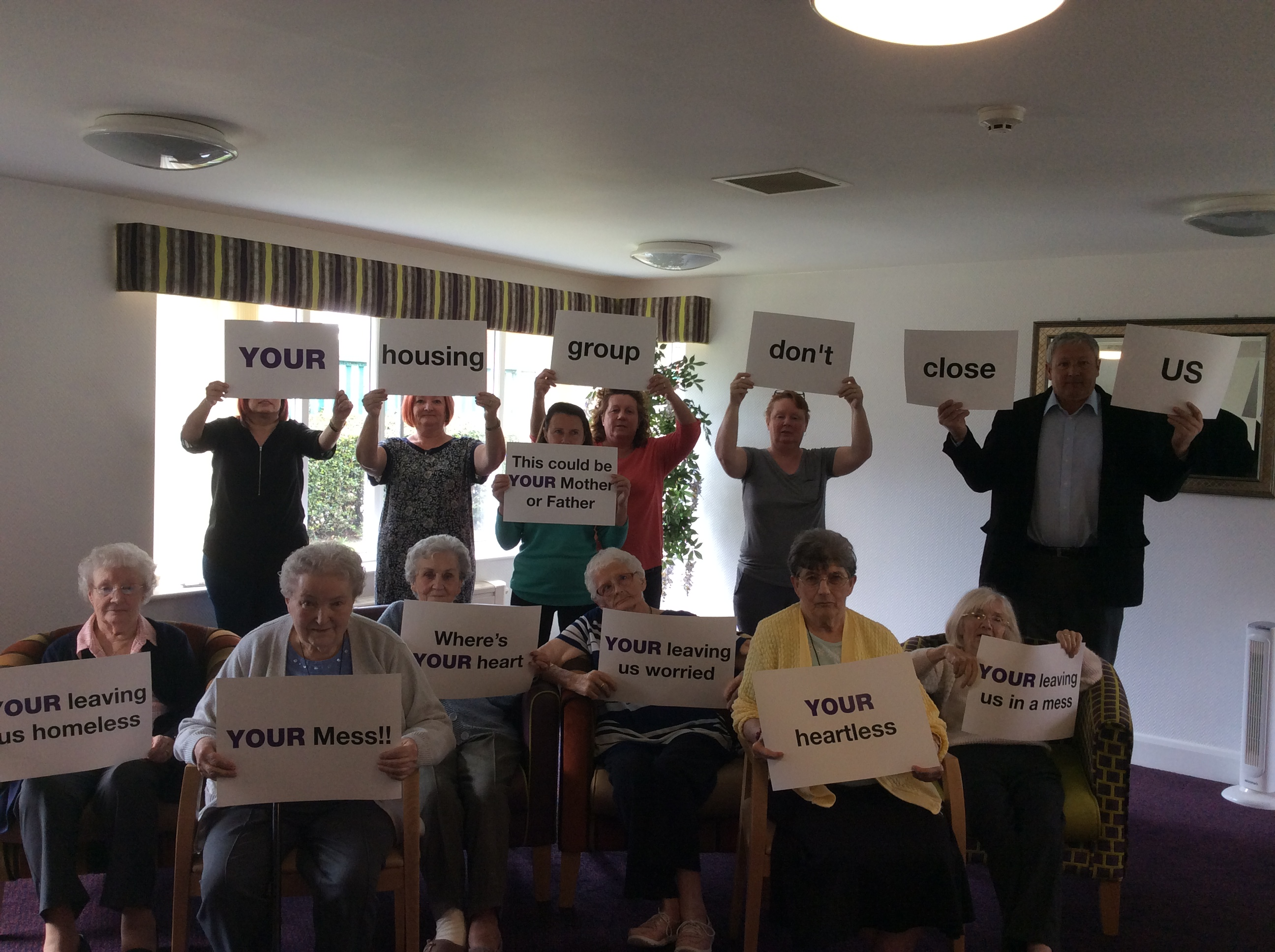 Petition starts to fight care home closure