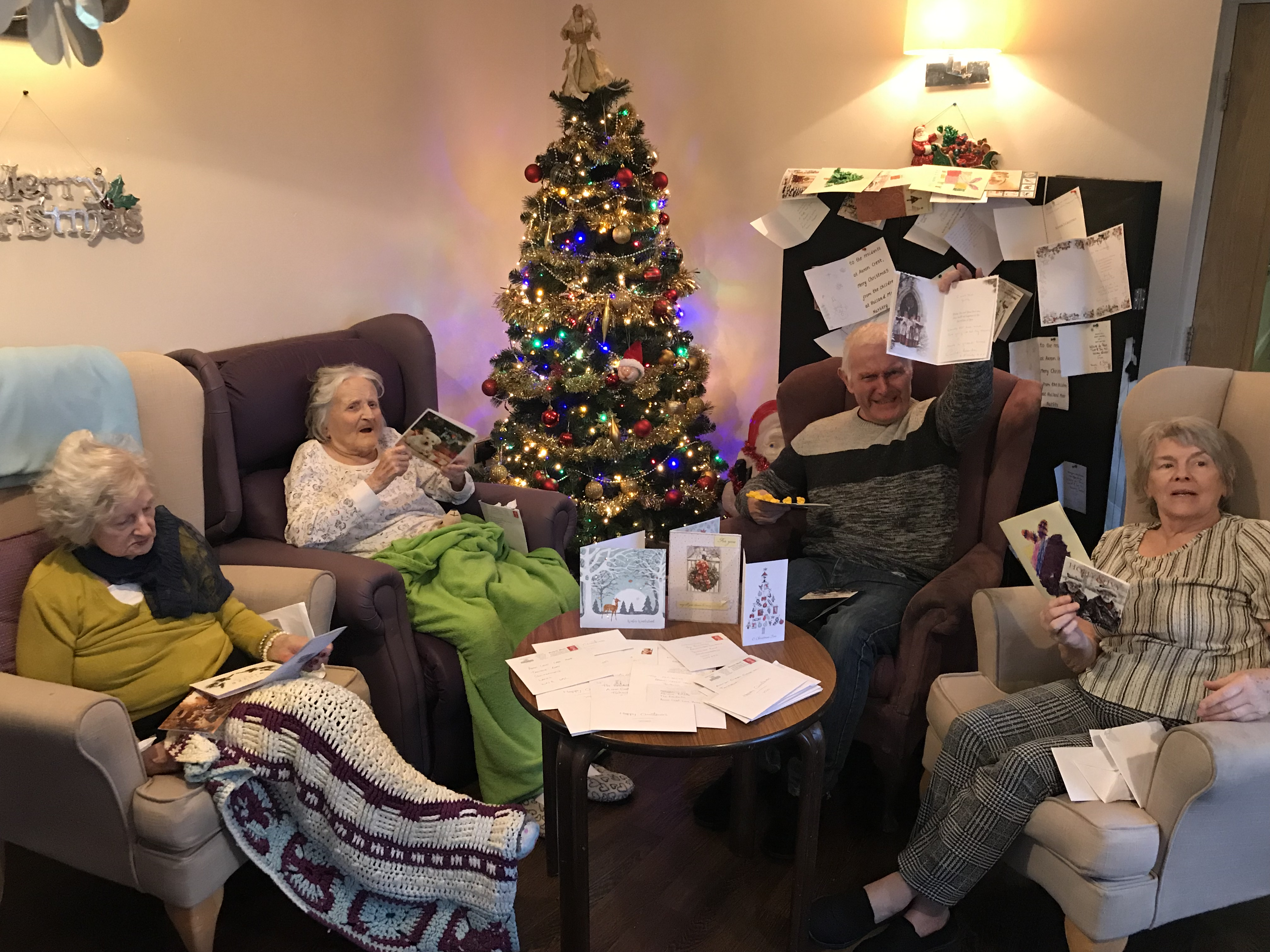 Great response to care home cards appeal