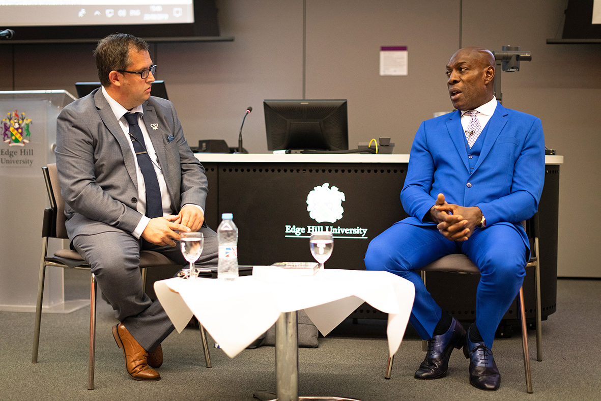 Former world heavyweight boxing champion Frank Bruno guest of honour at Edge Hill