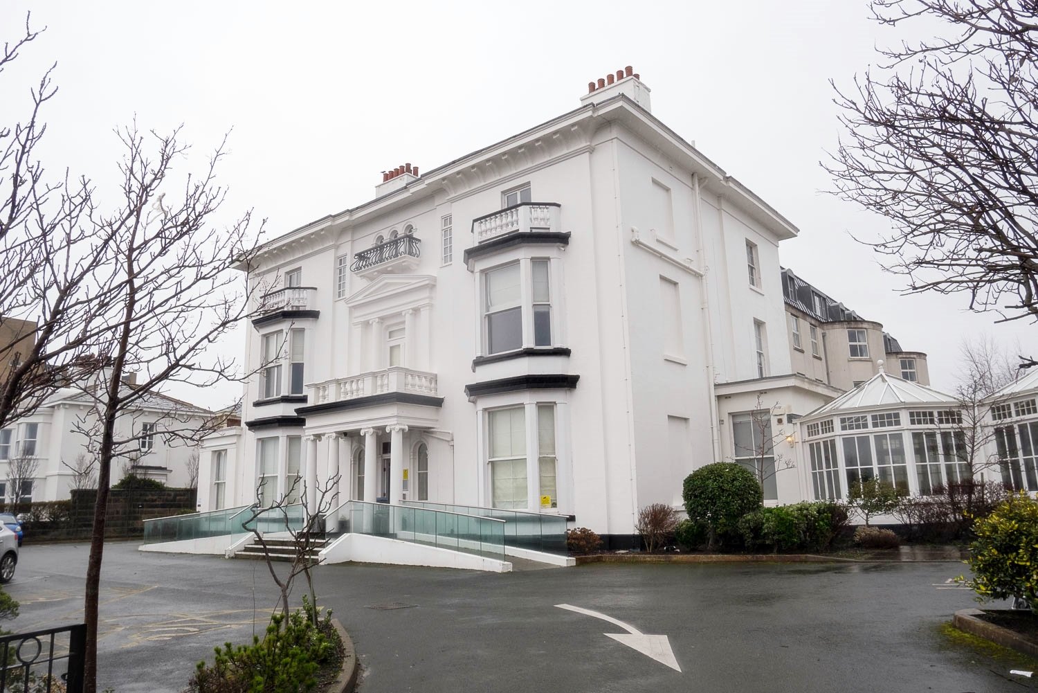 Byng house has been offered to the NHS for use during the coronavirus pandemic