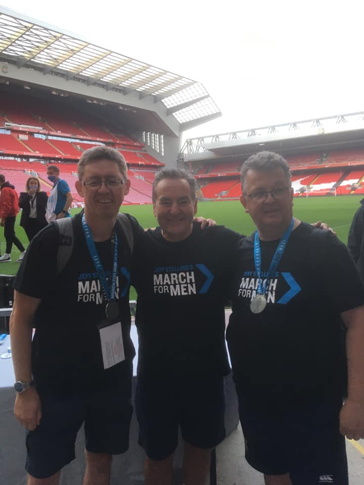 TV presenter joins walk through south Sefton for cancer charity