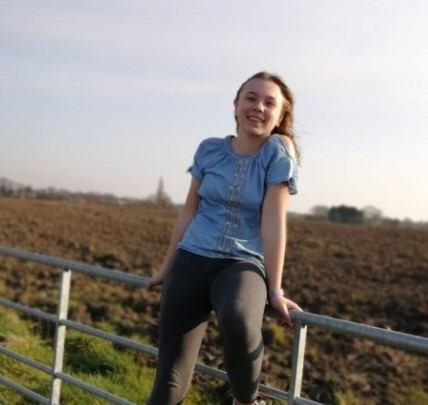 Champion delivery girl raises more than £800 for charity by taking on a 'virtual climb of Mount Everest!'