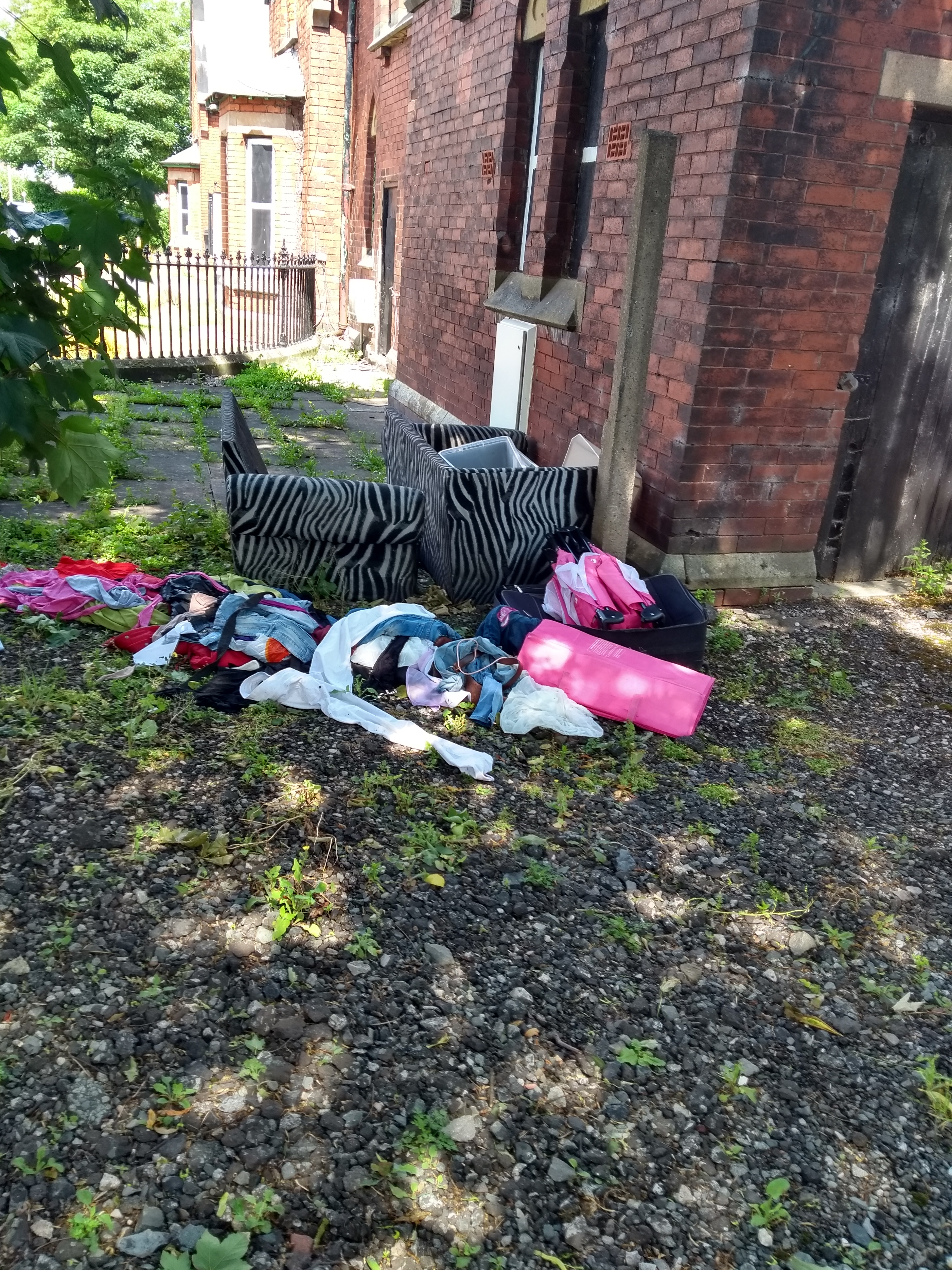 Shocked relative was 'utterly disgusted' to see Duke Street Cemetery fall victim to fly-tipping