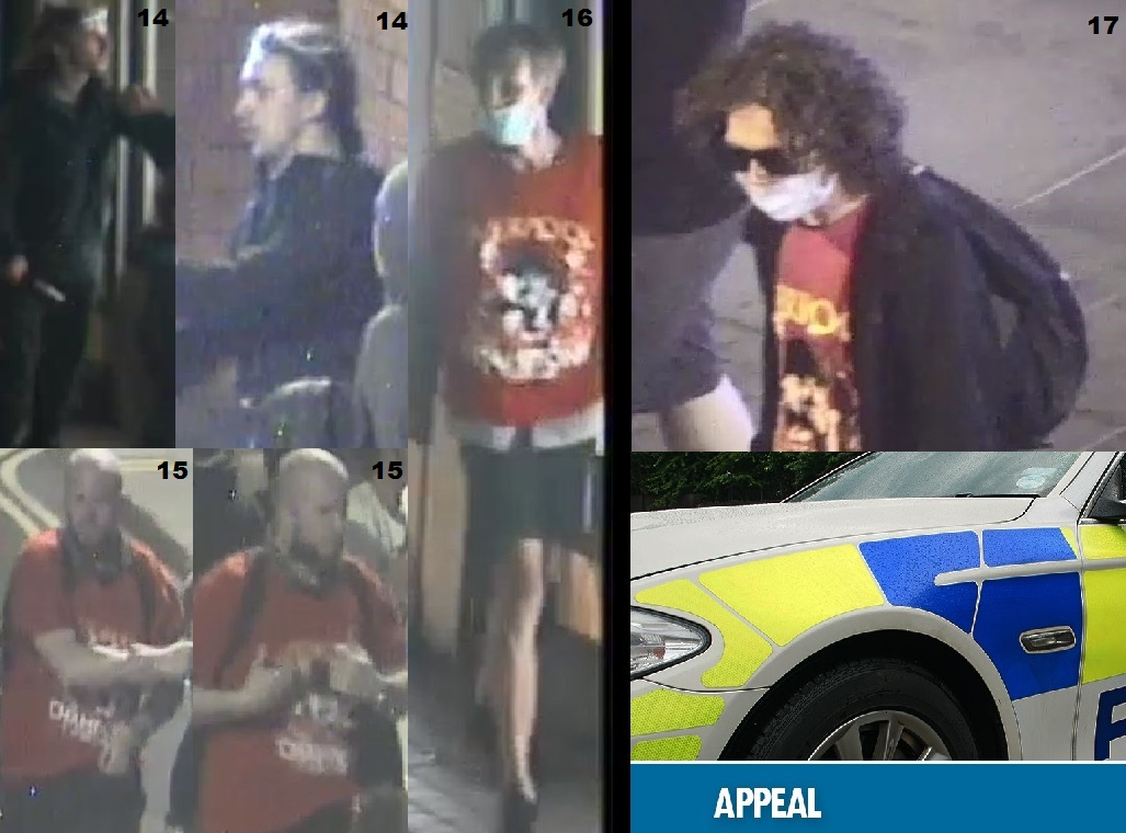 CCTV show four more men wanted after Liverpool fan celebrations at Pier Head