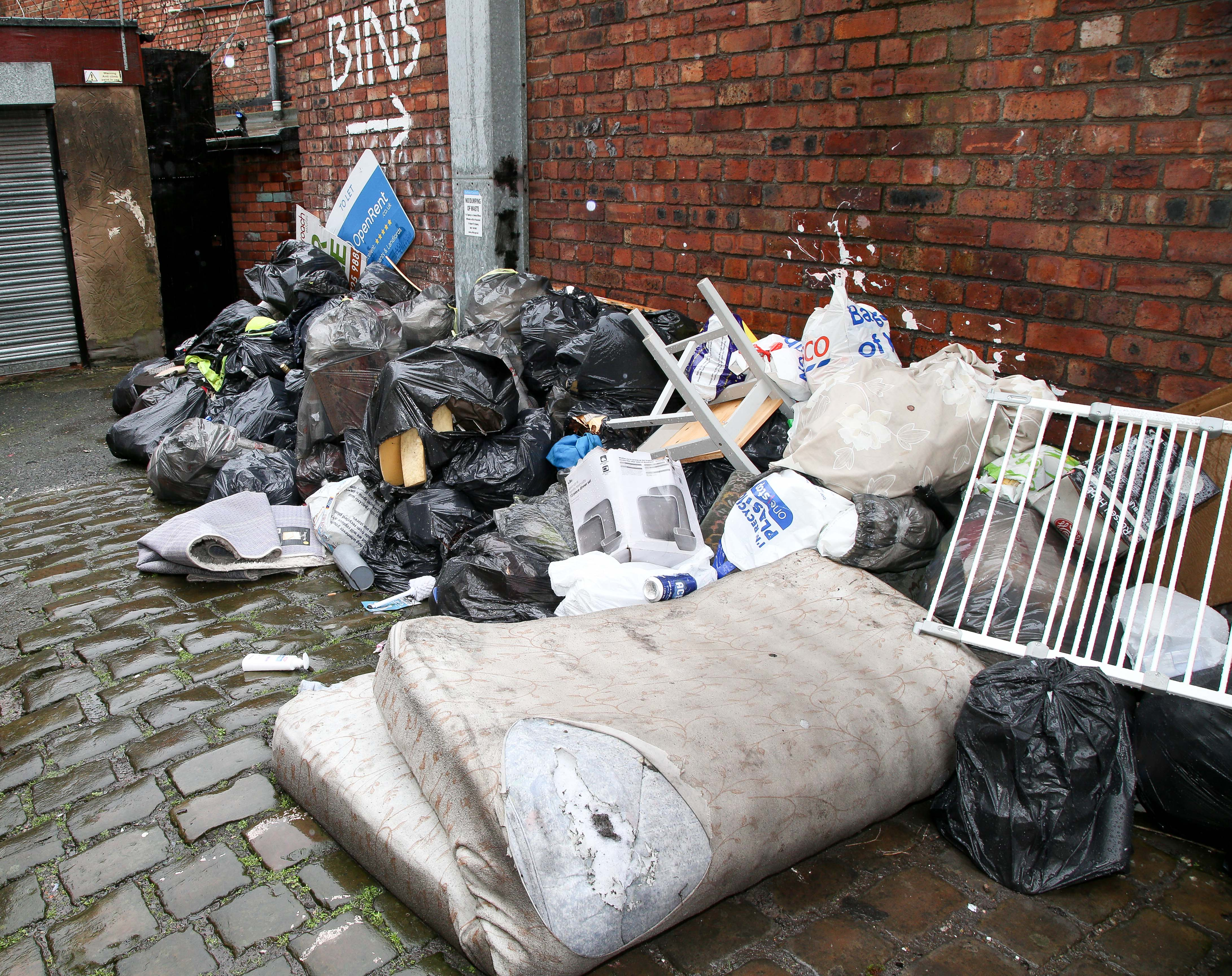 Grot-spot fly-tipping is cleared by council