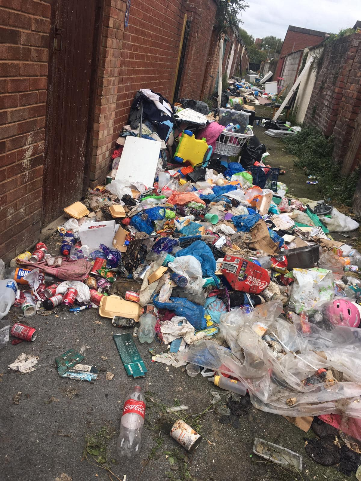 Council workers who cleaned up fly-tipping spot verbally abused