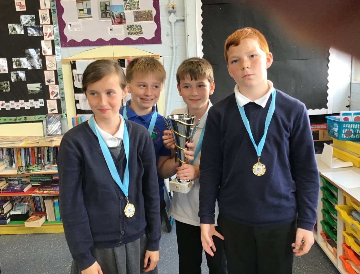 School team are the 'virtual' champions of basketball challenge