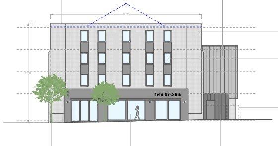 Proposals to modify former Regal Cinema to make way for retail unit and student accommodation are recommended for approval