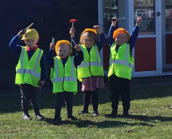 Youngsters celebrate nursery expansion!
