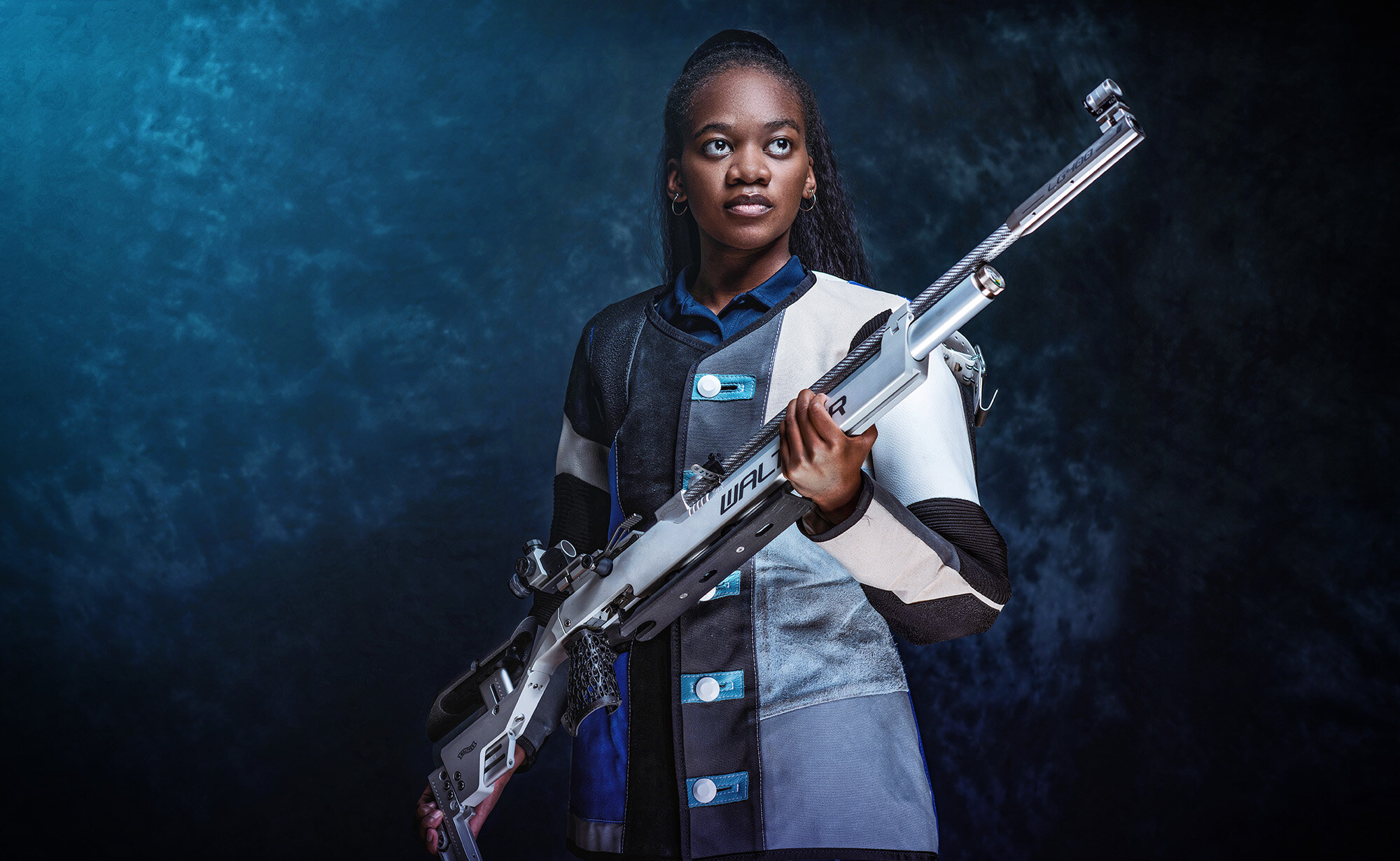 Champion target shooter aims to inspire more black athletes to take up the sport