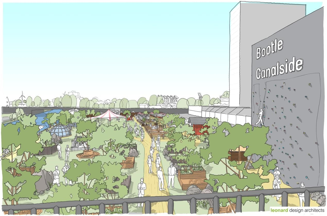 Bootle Canalside takes major step forward as plans are submitted