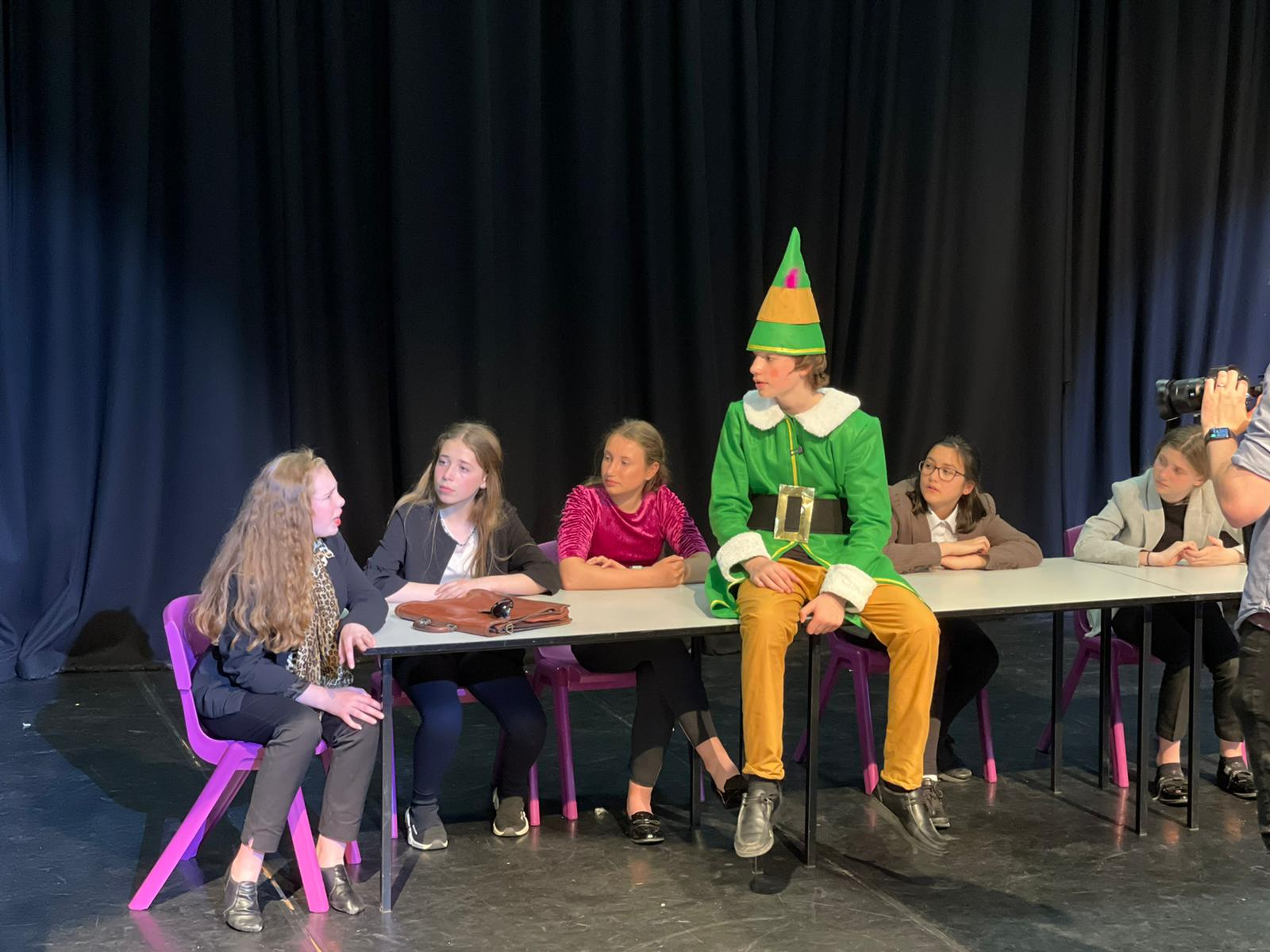 Talented young performers take on Christmas show - in May!