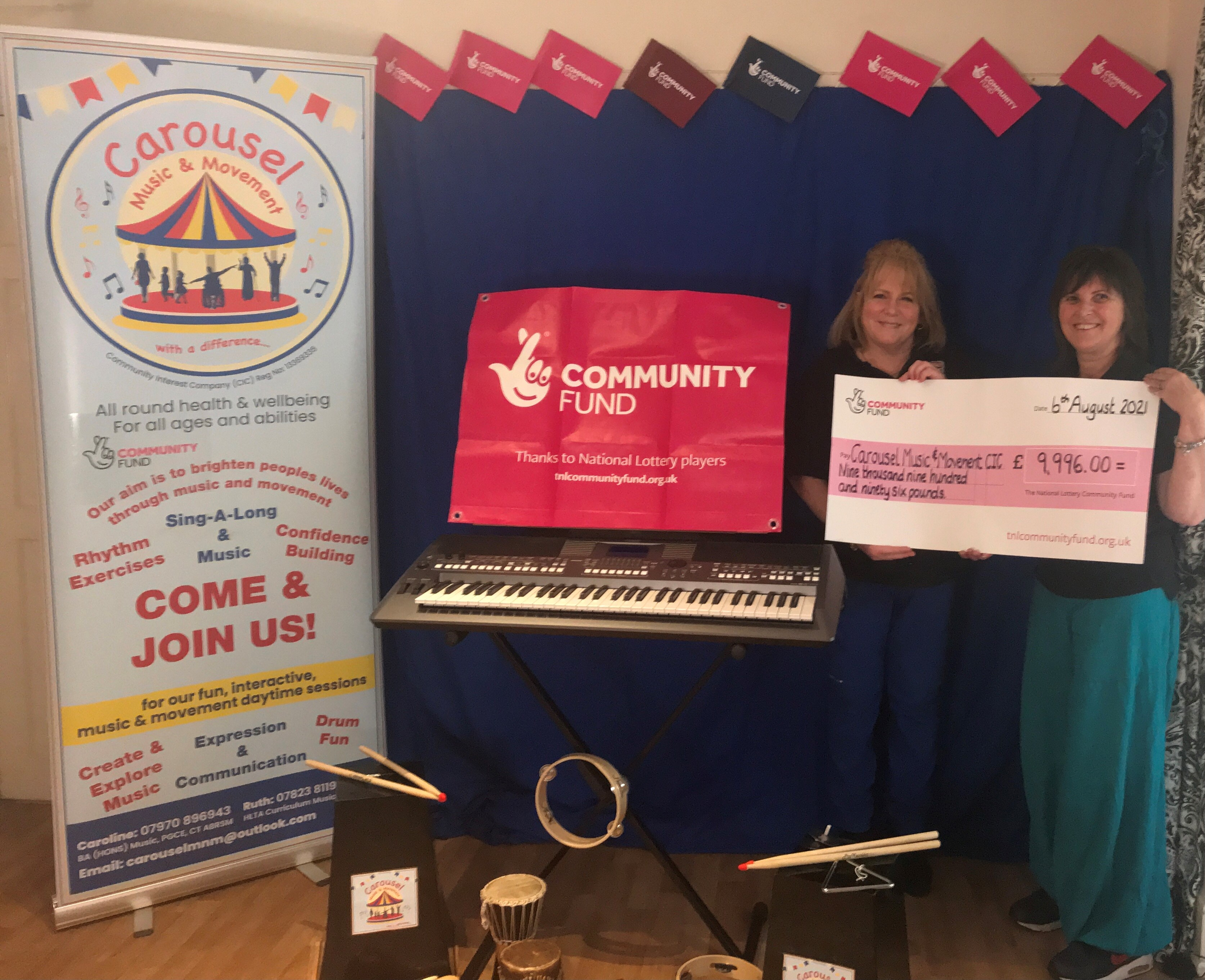 Community music group to expand after Lottery grant