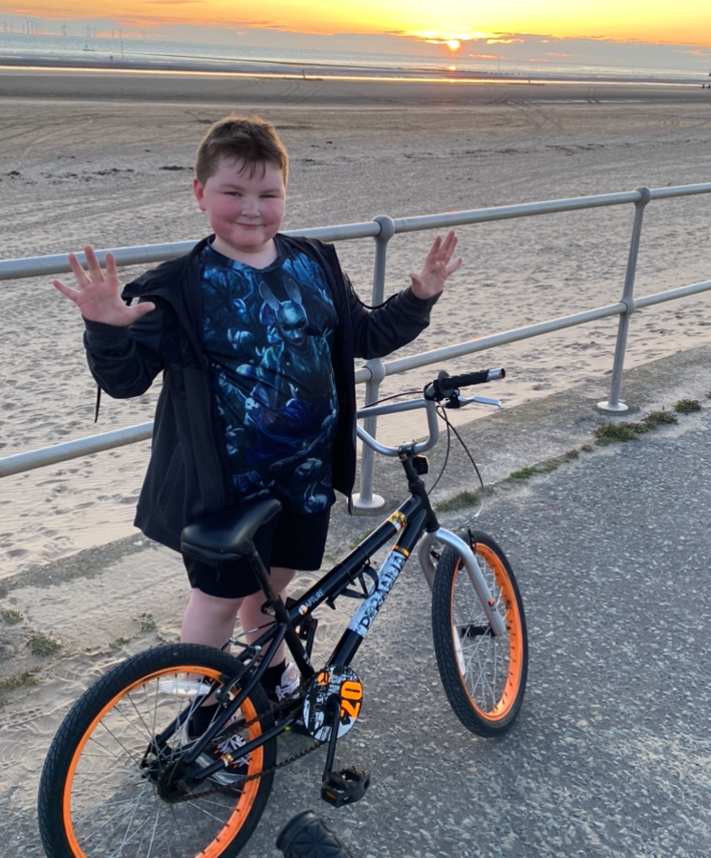 Riley goes the extra mile for charity challenge