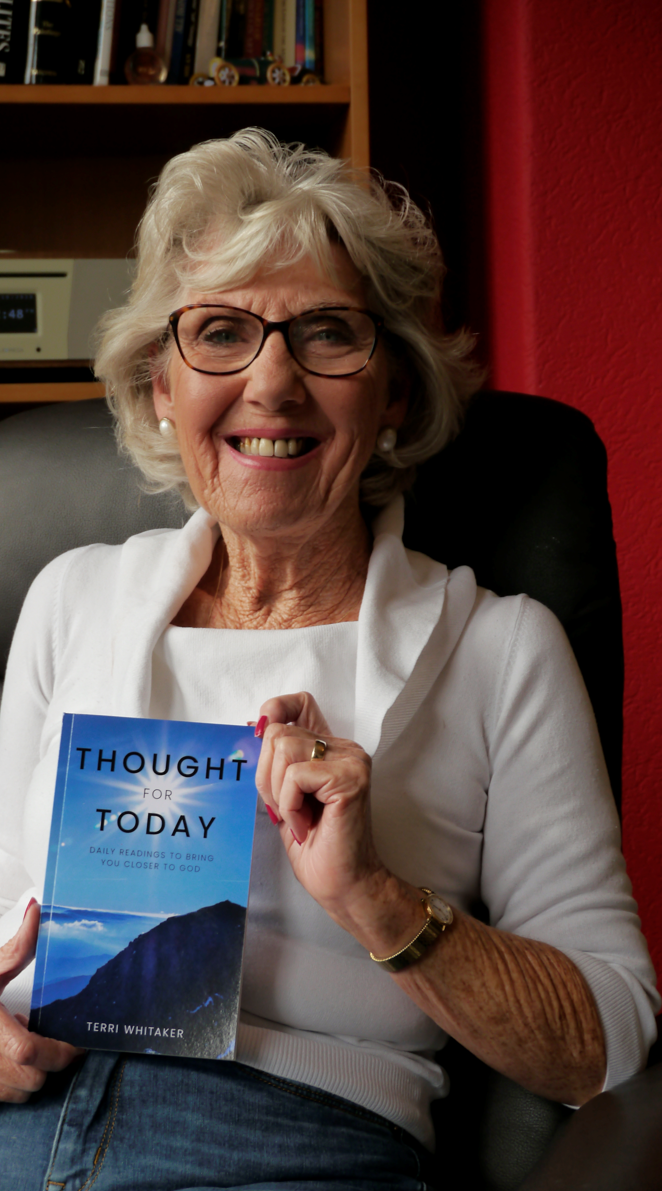 Terri has her 'thoughts' on life published
