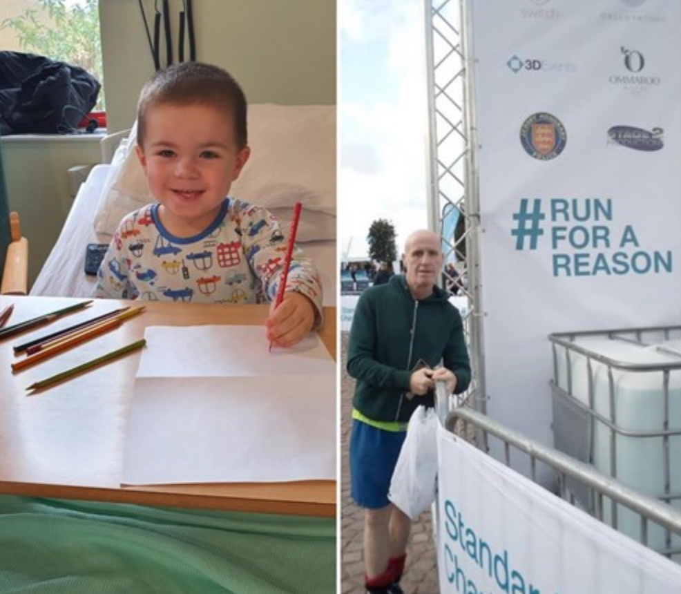 Runner completes 200 mile challenge in only one month for toddler who has diabetes