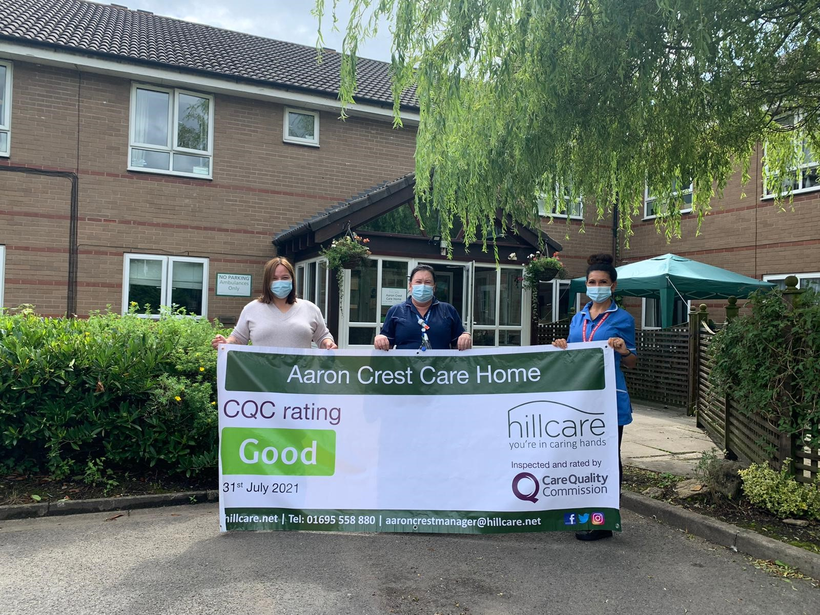 Care home gets glowing report after surprise inspection by CQC