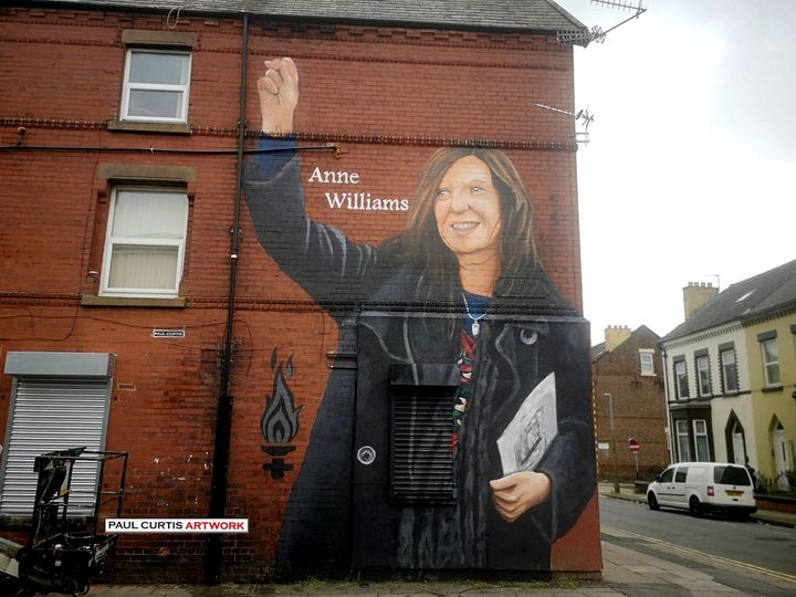 Mural unveiled for inspirational H'Boro campaigner