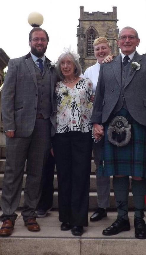 Couple whose marriage buckled after caring for loved ones with dementia take part in Memory Walk