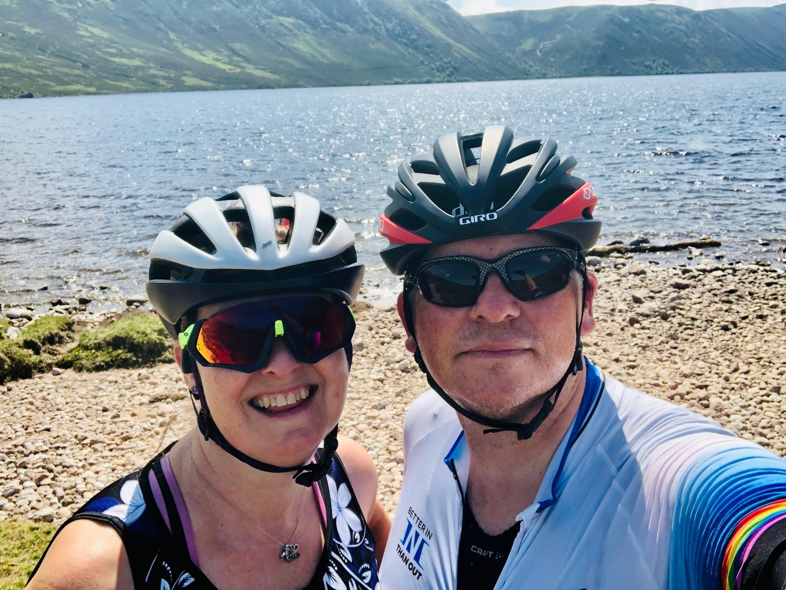 Husband and wife to tackle nine day cycling challenge for charity