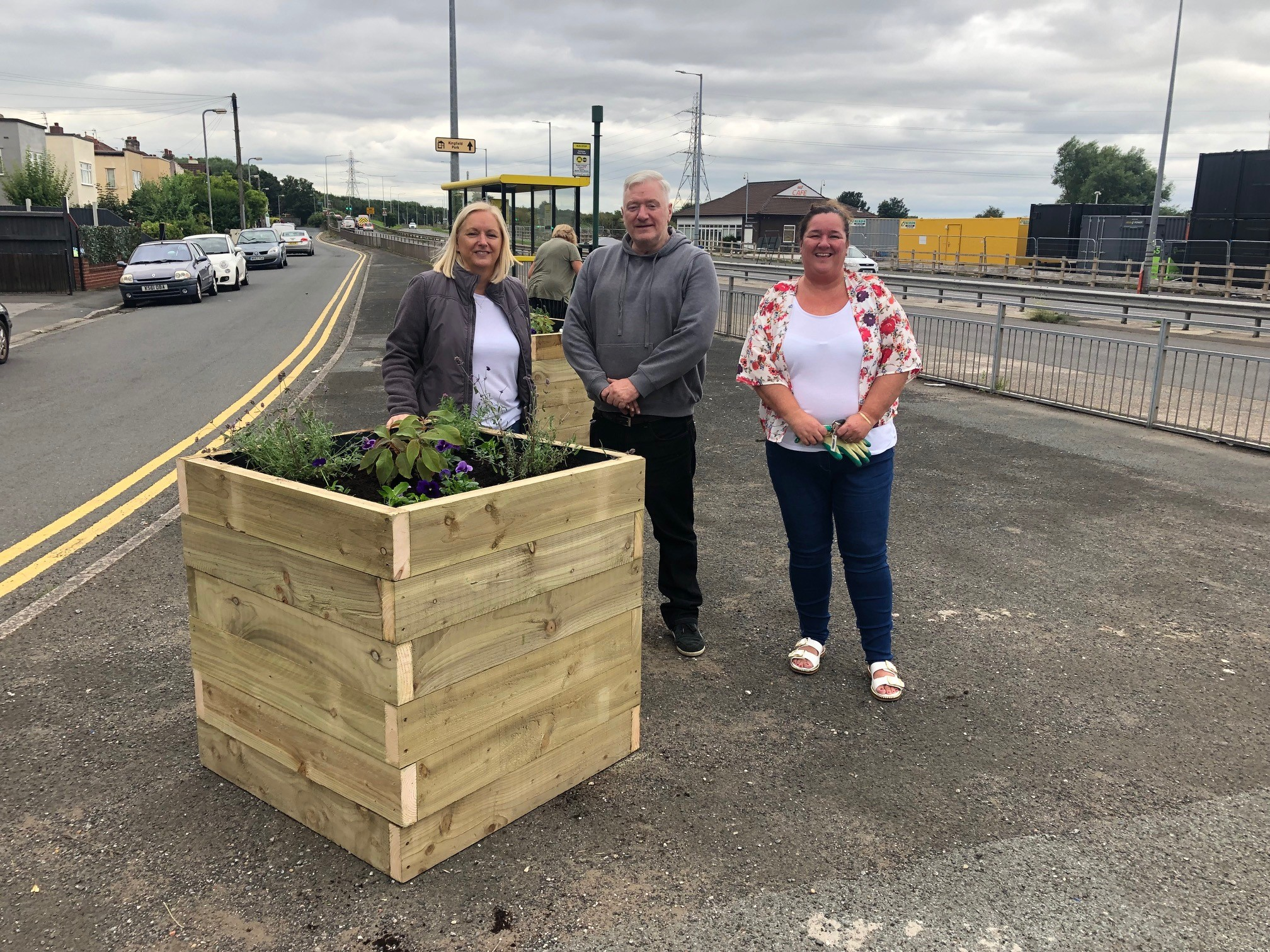 Three new planters for Northway!
