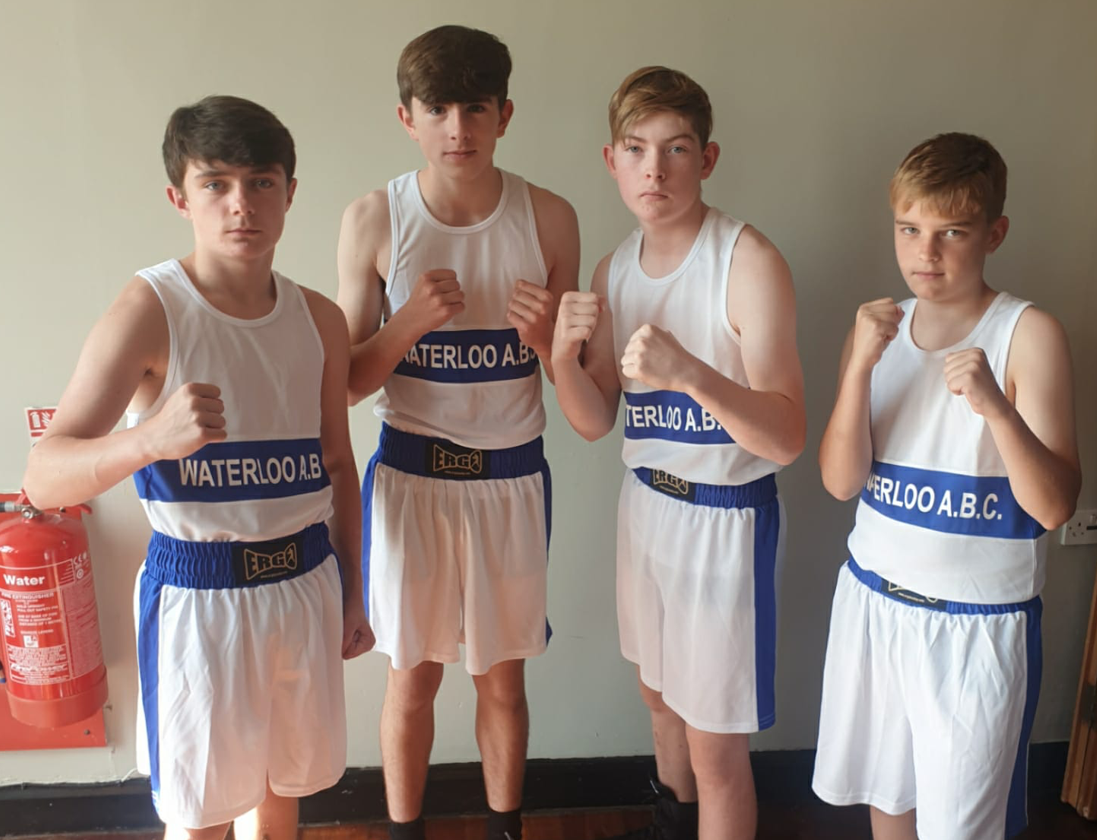 Young boxers represent Waterloo ABC at two events