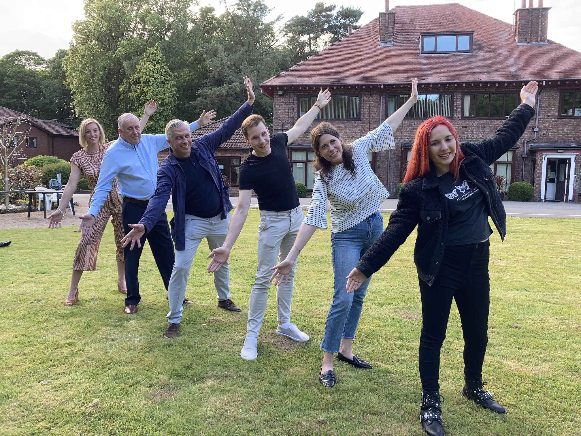 Dancers prepare for hospice Strictly St Joseph's event