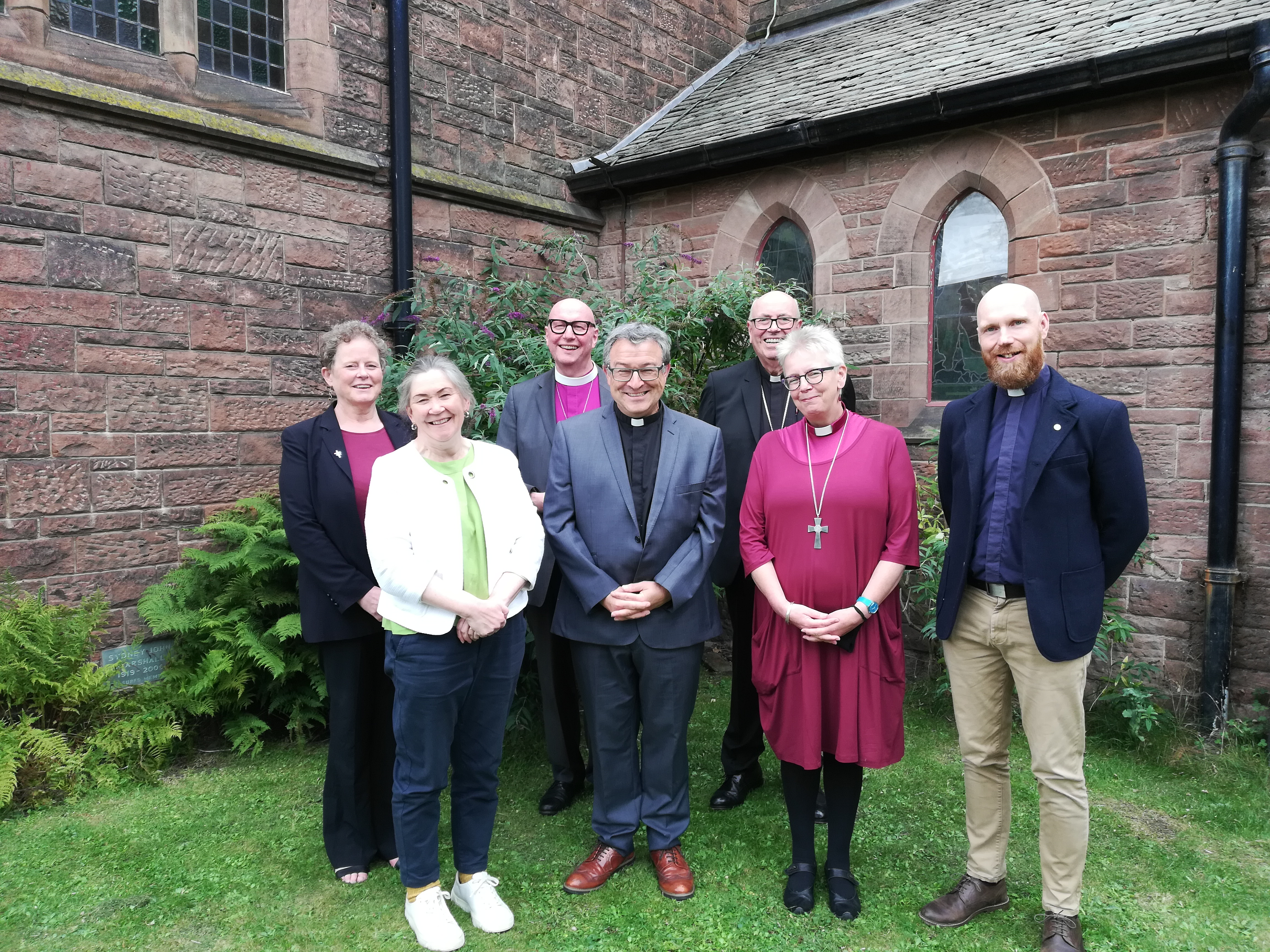 Special service held to induct new moderator