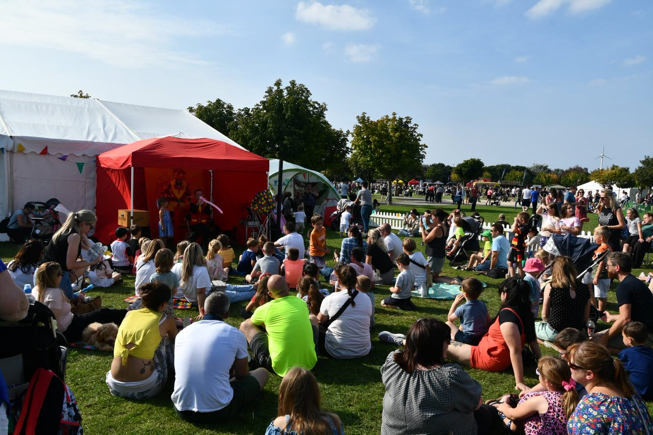 Thousands of food and drink lovers descend on Southport