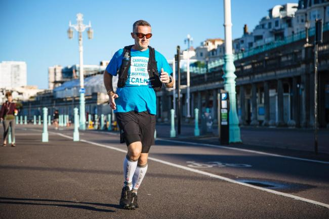 Suicide survivor to take on 'ultra marathon' for charity
