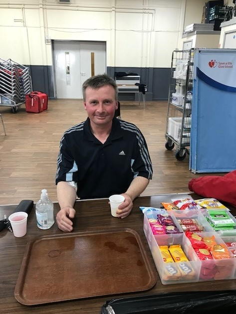 Marcus hopes to inspire others to donate blood after his 400th donation
