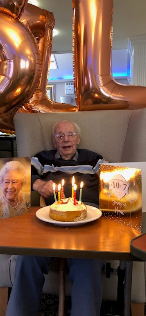 Snooky marks his 107th birthday!